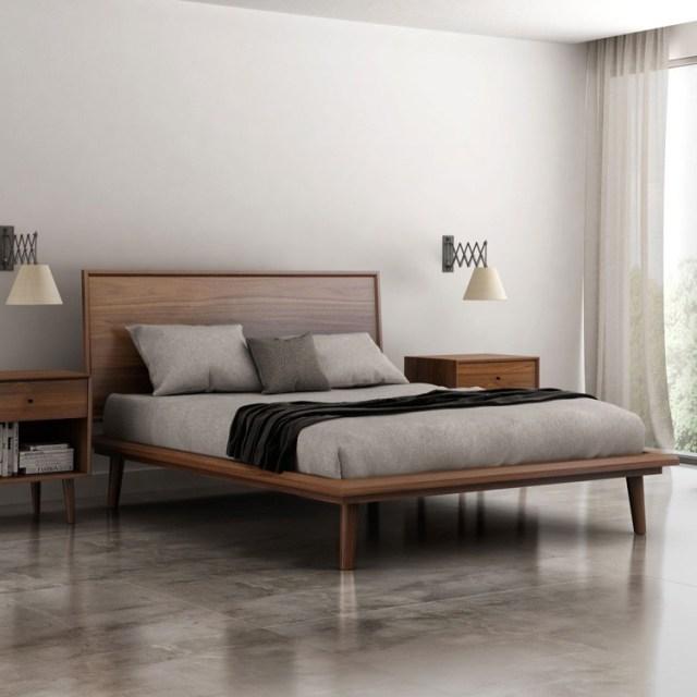 Huppe Herman Bed | Wooden | Bedroom Furniture - Ultra Modern