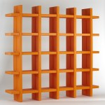 Slide My Book Plastic Bookcase Contemporary Living Room