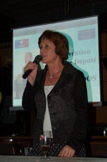 Nicole THOMAS, Conseillère Nationale de l'UMP, Maire de BISHWILLER