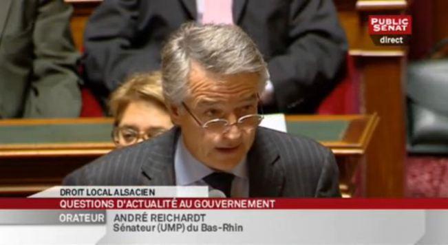 Question d'actualité d'André REICHARDT - Corporations artisanales