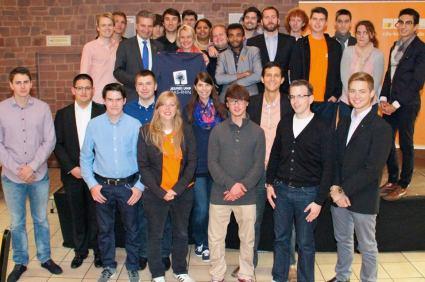 Jeunes UMP CDU Karlsruhe 21-09-13