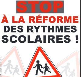 Stop réforme rythmes scolaires