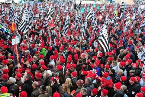 Bonnets rouges Bretagne