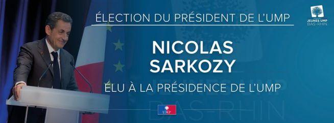 NS élu Président de l'UMP