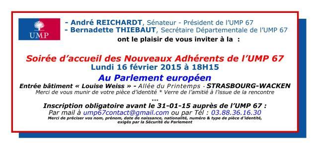 Invitation nouveaux adhérents 16-02-15