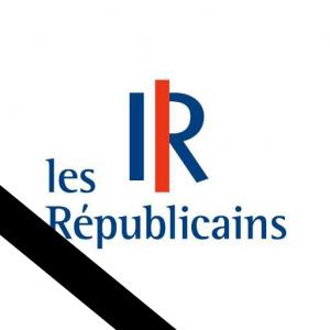 Logo Républicains deuil
