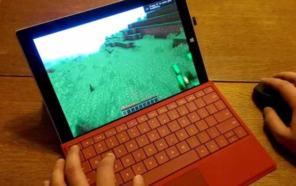 Can the Surface 3 play Minecraft?