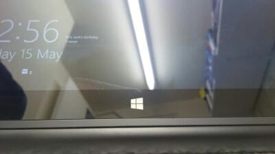 The capacative Windows button