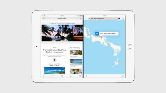 IOS 9 will support Splitview on the iPad Air 2