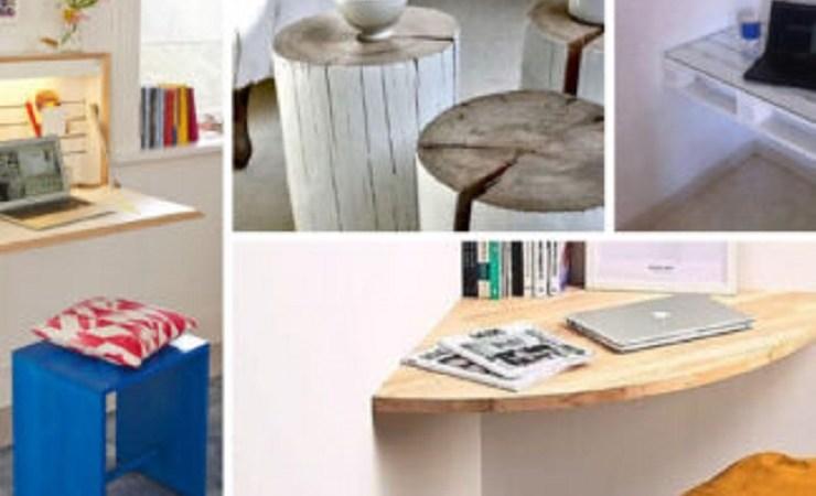 Ideias de mesas para espaços pequenos
