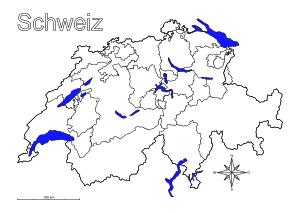 Landkarten Drucken Mit Bundesländern Kantonen Hauptstädte