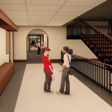 Virginia Hall Staircase