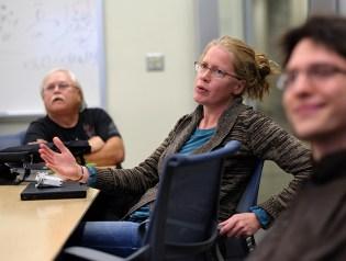 Lead Scientist Elizabeth Hohman.