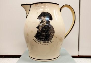 Creamware jug.