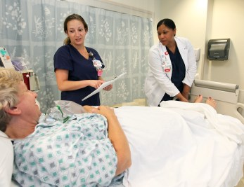 Bachelor of Science in nursing program, at Mary Washington Hospital.