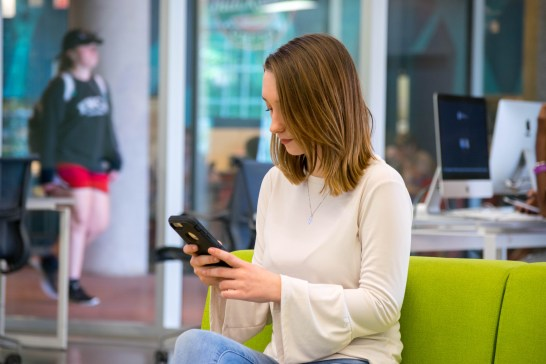 UMW's first student-centric mobile app, called Guide, is designed to help students navigate the college experience.
