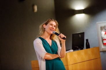 NPR lead education blogger Anya Kamanetz kicked off UMW's Digital Pedagogy Lab with a keynote about the pairing of education and technology.
