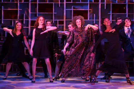 Merrily We Roll Along, opening Wednesday with a pay-what-you-can preview performance, continues UMW Theatre's 2018-19 season.