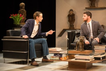 'God of Carnage' runs Feb. 14 through 24 at UMW's Klein Theatre. Photos by Geoff Green.