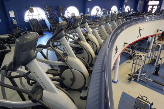 Campus Recreation has acquired 45 new cardio machines from Matrix Fitness. Photo by Suzanne Rossi.