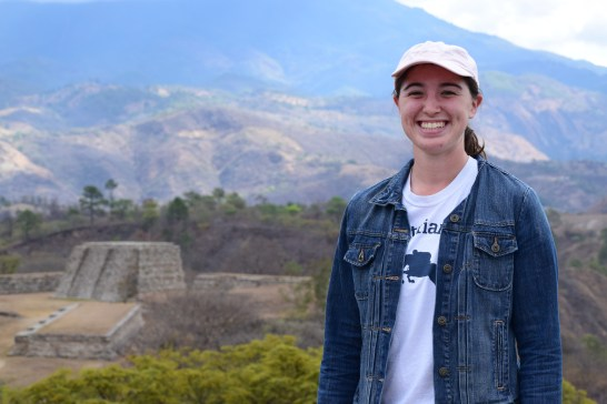 Rothstein visited historic and cultural sites in Guatemala, including these ancient Mayan ruins. Photo courtesy of Emily Rothstein.