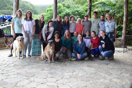 Rothstein and her UMW classmates in Guatemala. Photo courtesy of Emily Rothstein.