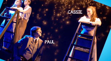 Both theatre majors, Paul and Cassie performed together at UMW. The couple worked together in production until last year, when Paul Morris took his 'dream' job with NASA.