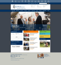The homepage, 2011-2015