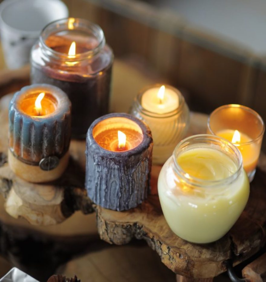 Nachhaltige Kerzen