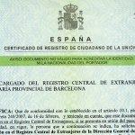 Einwanderungspapiere in der Provinz Malaga / Granada