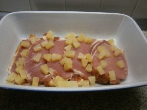 Kassler - Ananas - Auflauf