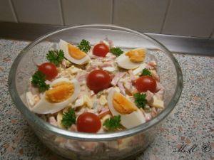 Wurstsalat mit Mayo