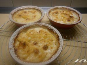 Lachs mit Kartoffel-Meerrettich-Gratin