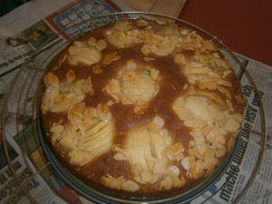Apfel - Marzipankuchen