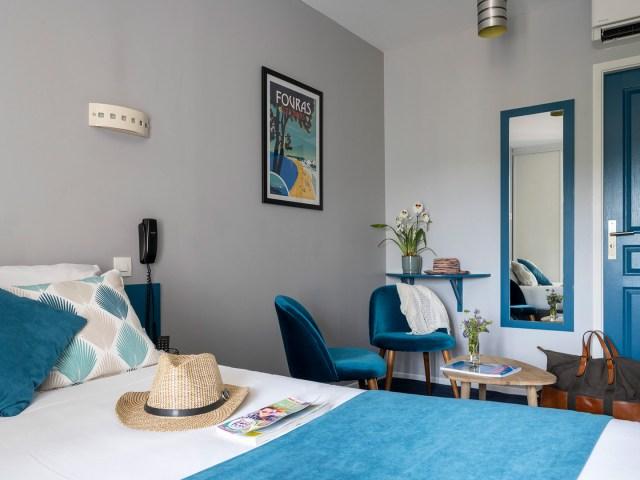 Chambre double confort - Hôtel sur le port - La Rochelle