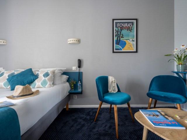 Un Hôtel sur le port - La Rochelle- chambre double confort