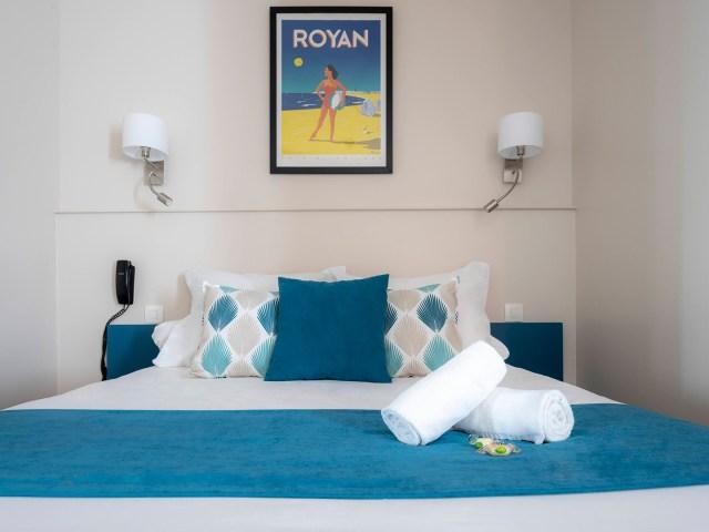 Lit d'un Hôtel sur le Port - Vieux port - La Rochelle