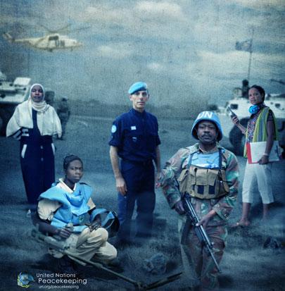 MINURSO Team Navigates through Western Sahara