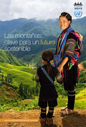 Portada del informe: «Montañas - clave para el futuro sostenible»