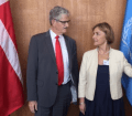 H.E. Mogens Lykketoft met the Minister of Foreign Affairs of Croatia
