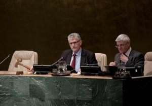 GA debate on Security Council reform