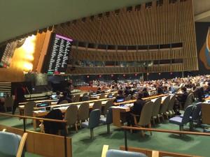 UN GA votes on 2016-17 budget