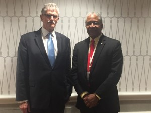 The President met with Harold W. Brooks, the Senior Vice-President of the American Red Cross