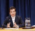 Chrsitiana Figueres, candidata a Secretario General de la ONU. Foto ONU /Archivo