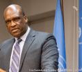 El ex Presidente de la Asamblea General, John Ashe. Foto ONU: Mark Garten.