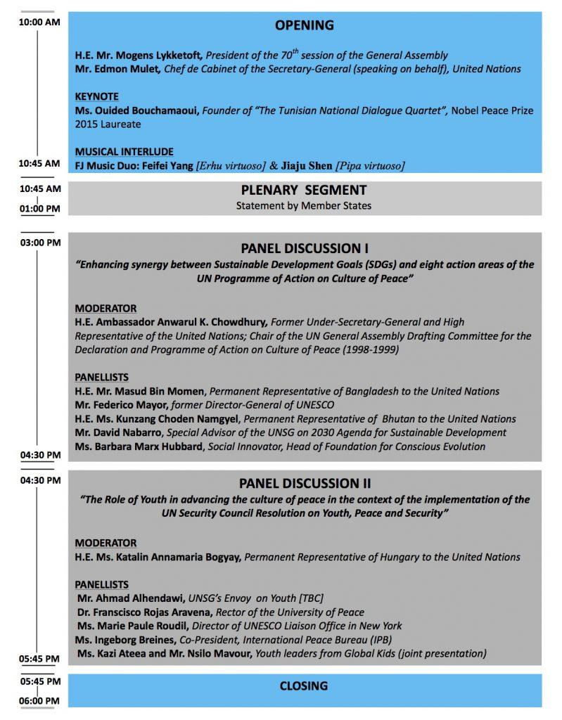 Programme_Culture of Peace_latest