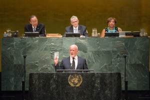 General Assembly Seventieth session 118th plenary meeting President of the 71st session of the General Assembly, H.E. Mr. Peter Thomson takes oath of office Minute of silent prayer or meditation Closing Plenary Meeting of the 70th Session of the General Assembly