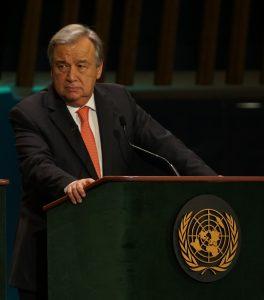 UNSC recommended candidate Antonio Guterres ©Aljazeera Debate