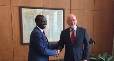 Meeting with Deputy President Kenya