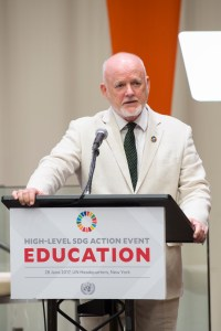 Official Opening of High-Level SDG Action Event on Education. General Assembly President, Peter Thomson speaking